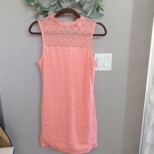 H&M Divided peach dress sz 10